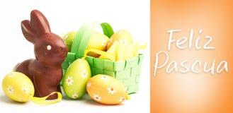 Composite image of feliz pascua Royalty Free Stock Photos