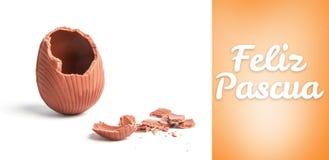 Composite image of feliz pascua Stock Image