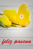 Composite image of feliz pasqua Stock Photography
