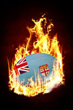 Composite image of fiji rugby ball Stock Images