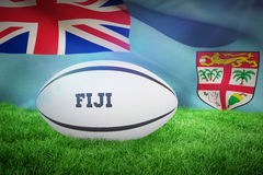 Composite image of fiji rugby ball Stock Image