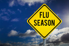 Composite image of flu season Stock Images