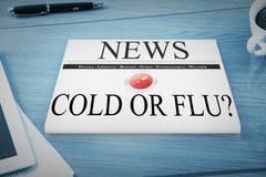Composite image of flu shot Stock Images