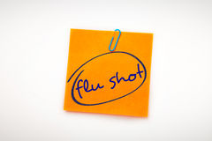 Composite image of flu shots Royalty Free Stock Images