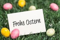 A Composite image of frohe ostern Royalty Free Stock Photo