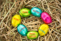 A Composite image of frohe ostern Royalty Free Stock Image
