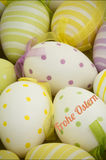 A Composite image of frohe ostern Royalty Free Stock Images