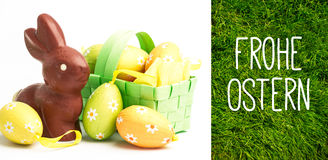 Composite image of frohe ostern Royalty Free Stock Photos