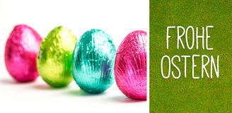 Composite image of frohe ostern Royalty Free Stock Images