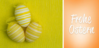 Composite image of frohe ostern Royalty Free Stock Photography
