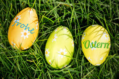 A Composite image of frohe ostern Stock Photos