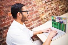 Composite image of gambling app screen Royalty Free Stock Photos