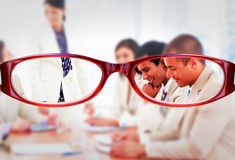 Composite image of glasses royalty free stock image