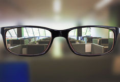 Composite image of glasses Royalty Free Stock Photo
