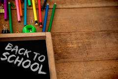 Composite image of graphic image of red back to school text Stock Photo