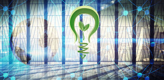 Composite image of green energy Stock Photo