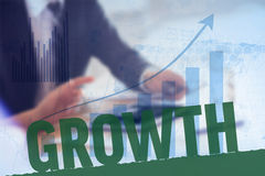 Composite image of growth Royalty Free Stock Images