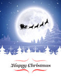 Composite image of happy christmas Stock Photo