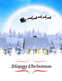 Composite image of happy christmas Stock Images