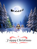 Composite image of happy christmas Royalty Free Stock Image