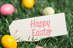 A Composite image of happy easter Stock Images