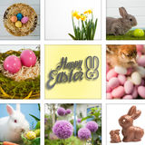 Composite image of happy easter Stock Image