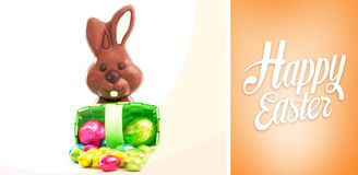 Composite image of happy easter Royalty Free Stock Photos