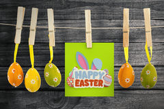 Composite image of happy easter Royalty Free Stock Image
