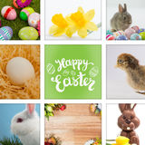 Composite image of happy easter Stock Photo