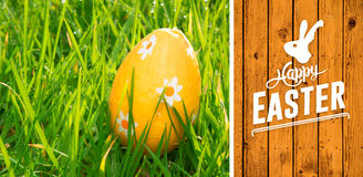 Composite image of happy easter Royalty Free Stock Photography