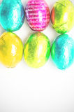 A Composite image of happy easter in different languages Stock Images