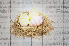 Composite image of happy easter in different languages Stock Image