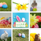 Composite image of happy easter graphic Royalty Free Stock Photo