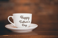 Composite image of happy fathers day Stock Photography