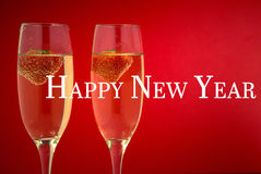 Composite image of happy new year Royalty Free Stock Images