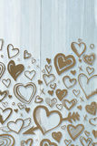 Composite image of heart Royalty Free Stock Images