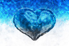 Composite image of heart balloons Royalty Free Stock Image