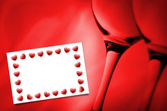 Composite image of heart frame Royalty Free Stock Photo