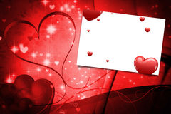 A composite image of hearts Royalty Free Stock Photos