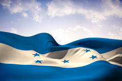 Composite image of honduras flag waving Royalty Free Stock Images