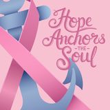 Composite image of hope anchors the soul Royalty Free Stock Photography