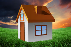 Composite image of house Stock Image