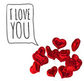 Composite image of i love you Royalty Free Stock Image
