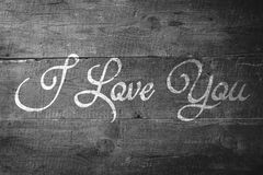 Composite image of i love you Stock Images