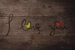 Composite image of i love you Royalty Free Stock Photography