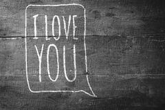 Composite image of i love you Royalty Free Stock Images