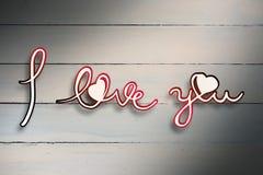Composite image of i love you Stock Photos