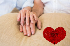 Composite image of i love you everyday Stock Photography