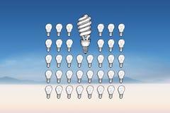 Composite image of idea doodle Stock Image