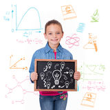 Composite image of idea and innovation graphic Stock Photography
